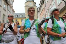 Samba Sole Luna - 24.Sambafestival Coburg 2015 - Sambaumzug