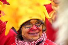 Samba Sole Luna beim Faschingstreiben der Pasinger Vereine auf dem Paseo