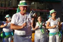 Samba Sole Luna beim Green Dinner in Pasing
