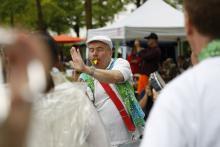 Samba Sole Luna auf dem Promenadenfest 2015 Messestadt Riem
