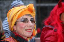Faschingsumzug am Ackermannbogen 2015 mit Samba Sole Luna