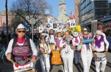 Samba Sole Luna beim Internationalen Frauentag 2014