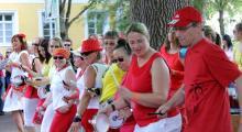 Sambafestival Coburg 2014, Samba Sole Luna, Josiasgarten