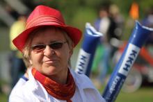 Samba Sole Luna beim KKH-Lauf im Westpark