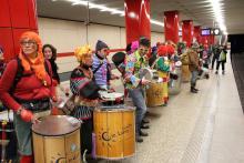 U-Bahn-Fasching - Rosenmontag - Samba Sole Luna