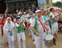 Sambafestival Coburg 2014, Samba Sole Luna, Umzug